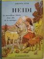 Couverture Heidi /  Heidi, fille de la montagne Editions Flammarion (Jeunesse) 1950