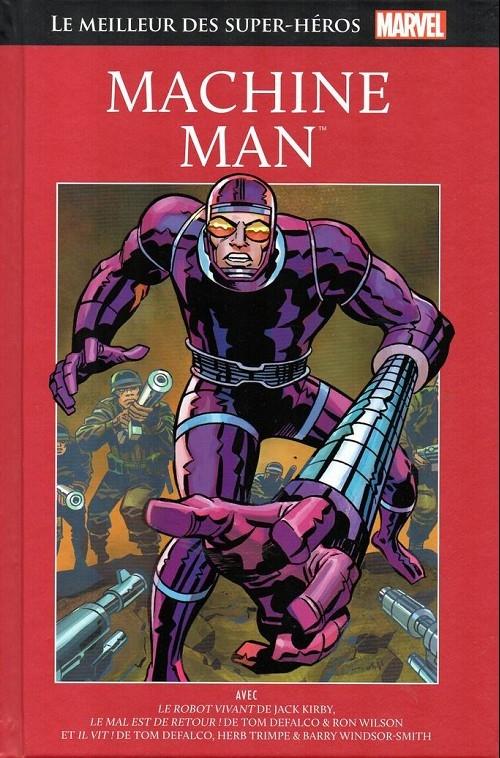 Couverture Le meilleur des super-héros Marvel : Machine Man