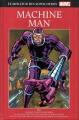 Couverture Le meilleur des super-héros Marvel : Machine Man Editions Hachette 2017