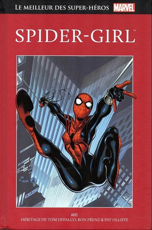 Couverture Le meilleur des super-héros Marvel : Spider-Girl