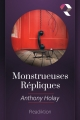Couverture Monstrueuses répliques Editions Readiktion 2017