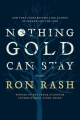 Couverture Nothing gold can stay Editions Ecco 2013