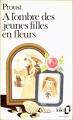 Couverture À l'ombre des jeunes filles en fleurs Editions Folio  1985