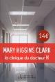 Couverture La Clinique du docteur H. Editions Retrouvées 2015