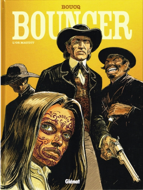 Couverture Bouncer, tome 10 : L'Or maudit