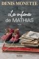 Couverture Les enfants de Mathias Editions Logiques 2017