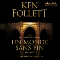 Couverture Un monde sans fin, audio, tome 2 Editions Audiolib 2017