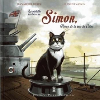 Couverture La véritable histoire de Simon, héros de la mer de Chine