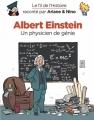 Couverture Le fil de l'Histoire raconté par Ariane & Nino, tome 1 : Albert Einstein, un physicien de génie Editions Dupuis 2018