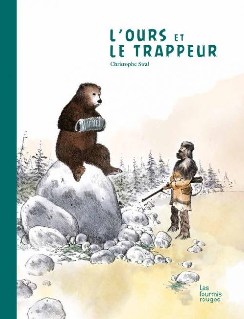 Couverture L'ours et le trappeur