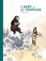 Couverture L'ours et le trappeur Editions Les fourmis rouges 2017