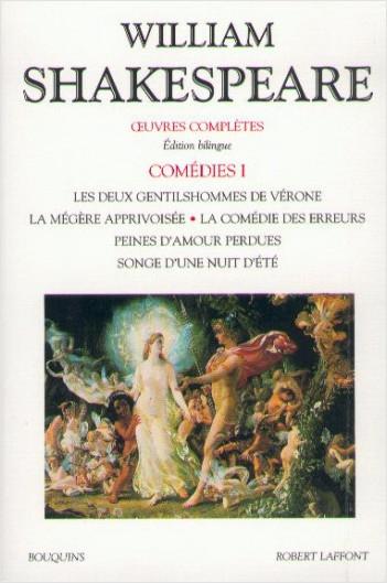 Couverture Comédies, tome 1