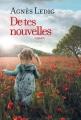 Couverture De tes nouvelles Editions France Loisirs 2017