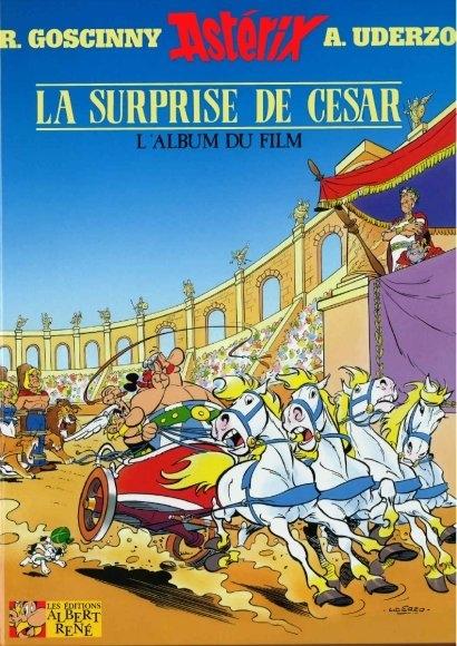 Couverture Astérix et la surprise de César