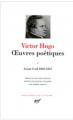Couverture Oeuvres poétiques, tome 1 : Avant l'exil 1802-1851 Editions Gallimard  (Bibliothèque de la Pléiade) 1964