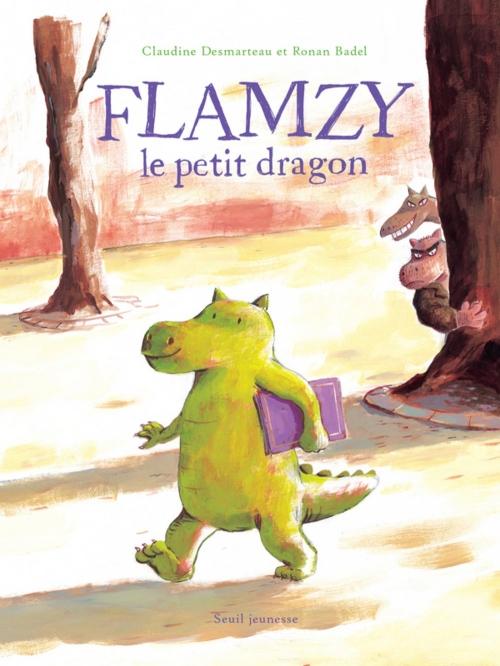 Couverture Flamzy le petit dragon