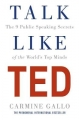 Couverture Talk Like TED: The 9 Public Speaking Secrets of the World's Top Minds Editions Pan MacMillan 2017