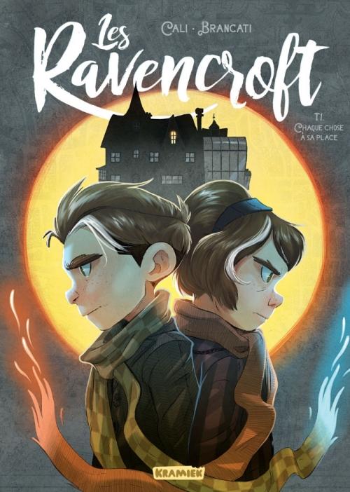 Couverture Les Ravencroft, tome 1 : Chaque chose à sa place