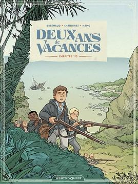 Couverture Deux ans de vacances (BD), tome 1