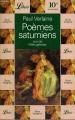 Couverture Poèmes saturniens Editions Librio 2001