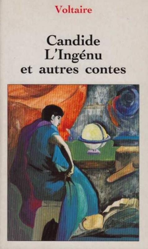 Couverture Candide, L'ingénu et autres contes
