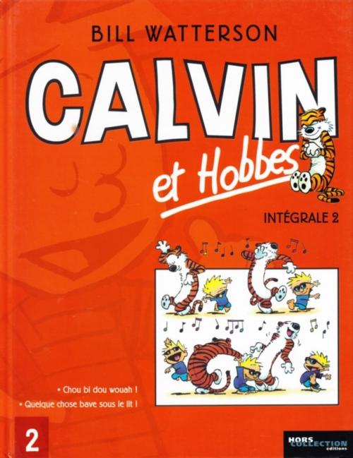 Couverture Calvin et Hobbes, intégrale, tome 2