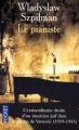 Couverture Le pianiste Editions Pocket 2003