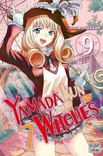 Couverture Yamada Kun & the 7 witches, tome 09