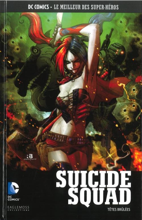 Couverture Suicide Squad (Renaissance), tome 1 : Têtes brûlées