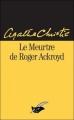 Couverture Le meurtre de Roger Ackroyd Editions Le Masque 2013