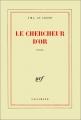 Couverture Le chercheur d'or Editions Gallimard  (Blanche) 1985