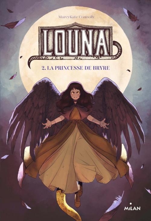 Couverture Louna, tome 2 : La princesse de Bryre