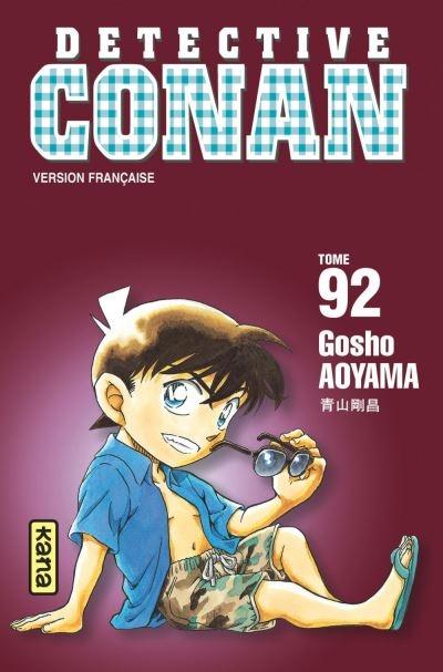 Couverture Détective Conan, tome 92