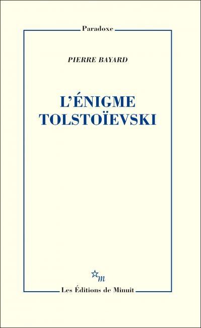 Couverture L'énigme Tolstoïevski
