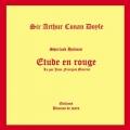 Couverture Une étude en rouge / Étude en rouge Editions Brumes de mars 2013
