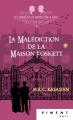 Couverture Les enquêtes de Middleton et Grice, tome 2 : La malédiction de la maison Foskett Editions France Loisirs (Piment - Noir) 2018