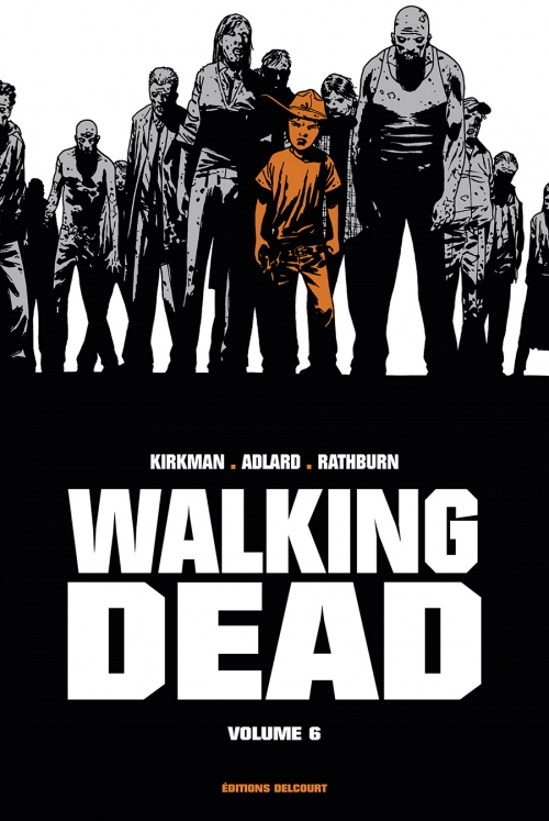 Couverture Walking dead, prestige, tome 6