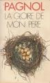 Couverture Souvenirs d'enfance, tome 1 : La gloire de mon père Editions Presses pocket 1986