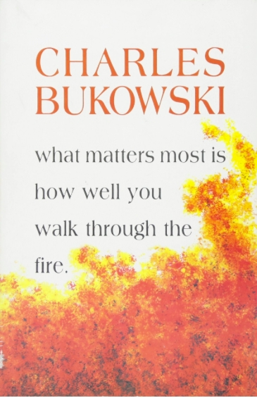 Couverture What Matters Most is How Well You Walk Through the Fire