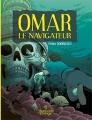 Couverture Omar le navigateur Editions Les aventuriers de l'étrange 2018