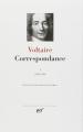 Couverture Correspondance, tome 1 Editions Gallimard  (Bibliothèque de la pléiade) 1978