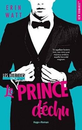 Couverture Les héritiers, tome 4 : Le prince déchu