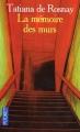 Couverture La mémoire des murs Editions Pocket 2005