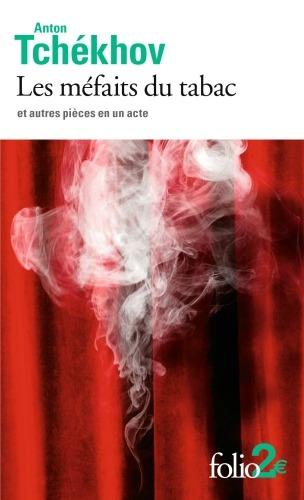 Couverture Les méfaits du tabac et autres pièces en un acte