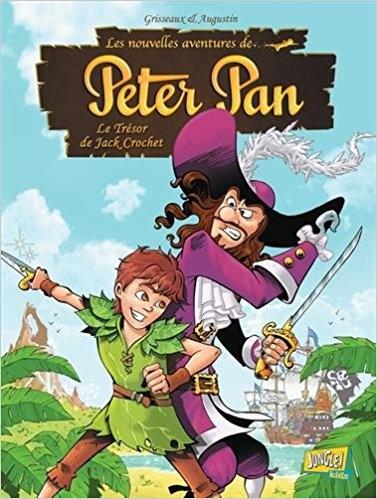 Couverture Les nouvelles aventures de Peter Pan, tome 1 : Le trésor de Jack Crochet