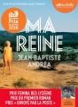 Couverture Ma reine Editions Audiolib 2018