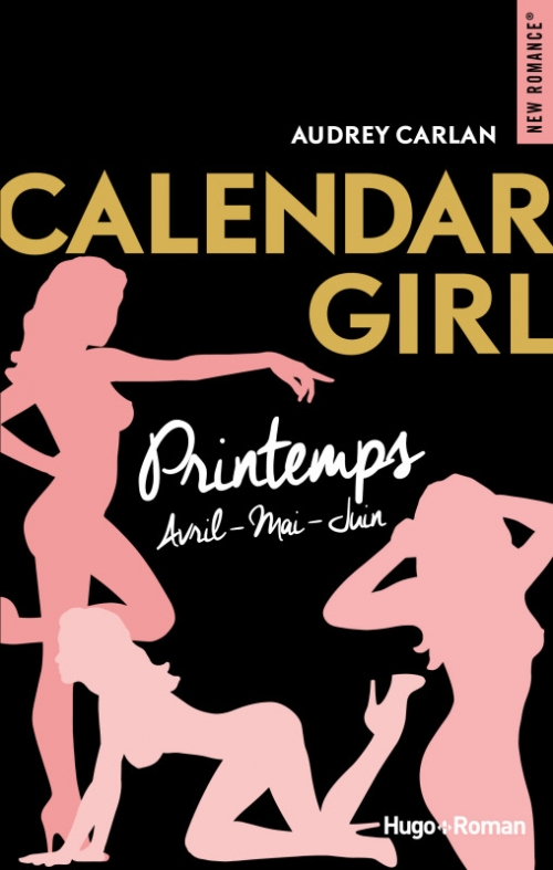 Couverture Calendar girl, triple, tome 2 : Printemps : Avril, mai, juin