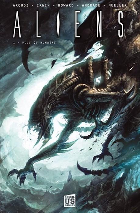 Couverture Aliens, tome 1 : Plus qu'humains