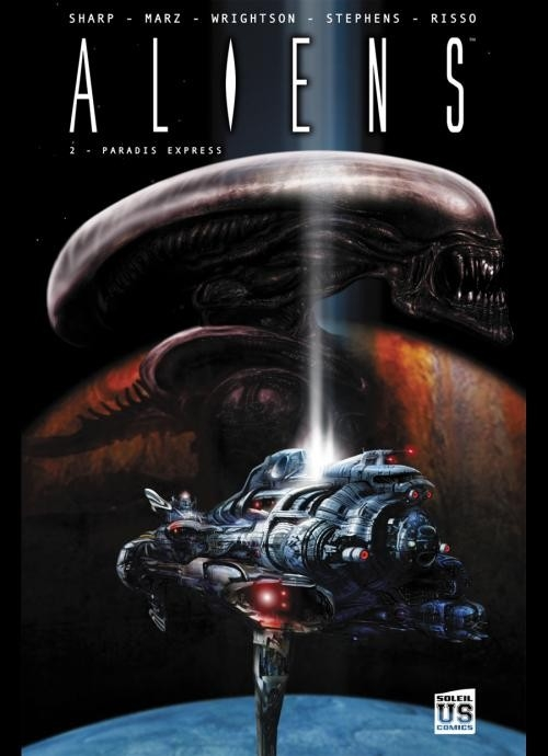 Couverture Aliens, tome 2 : Paradis express