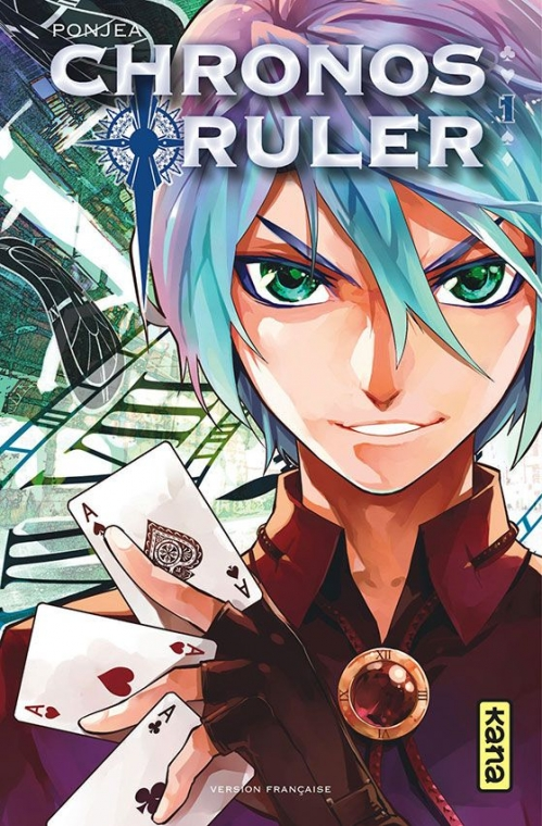 Couverture Chronos ruler, tome 1